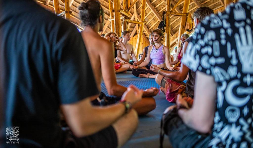 ozora festival meditation