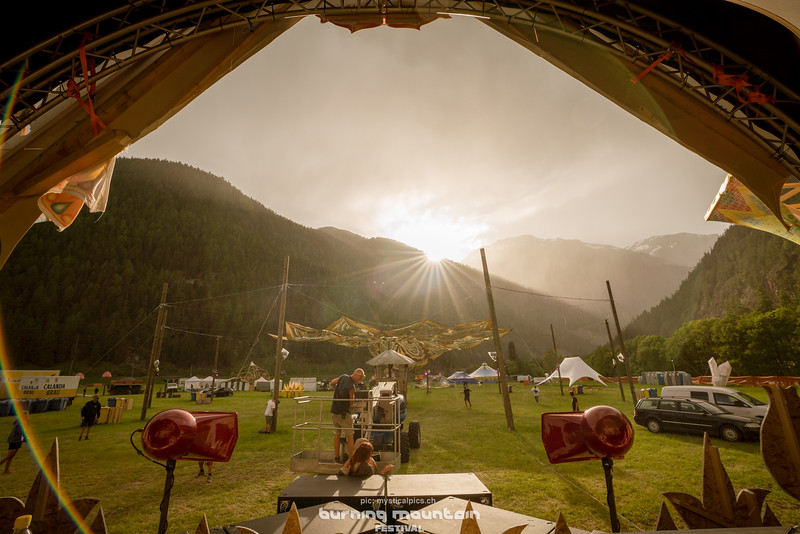 Burning Mountain Festival Location